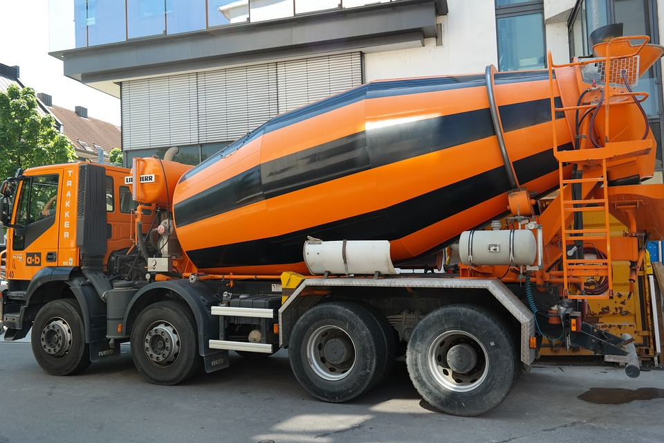 betonnière camion
